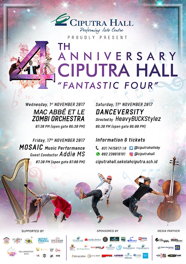 4th Anniversary of Ciputra Hall
