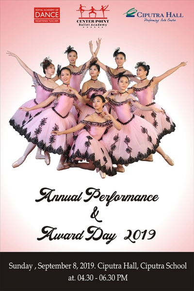 Center Point Ballet Annual Performance & Award Day 2019