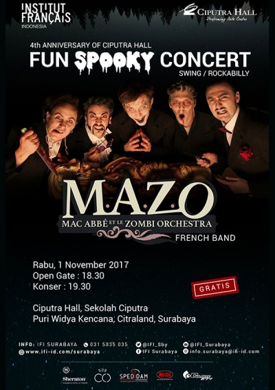 4th Anniversary of Ciputra Hall - Fun Spooky Concert