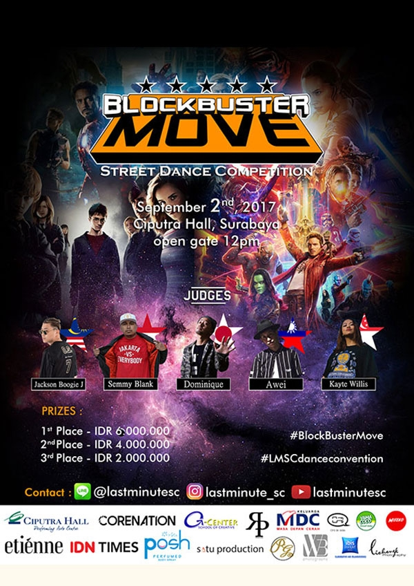 Blockbuster Move Street Dance Competition